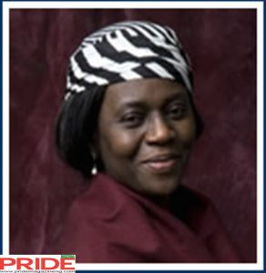 Dr. Mrs. Maryam Babangida, RECIPIENT OF THE 2017 JEWEL OF INESTIMABLE VALUE AWARD AT THE PRIDE WOMEN CONFERENCE 2017, founder of the Better Life Program for Rural Women (BLP)